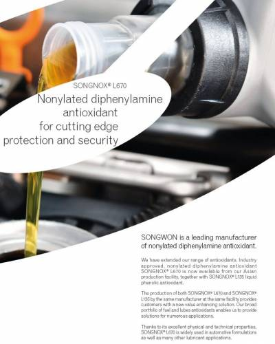 Fuel Antioxidants & Lubricant Additives - Supplier | SONGWON